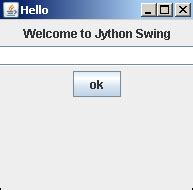 jython swing jython layout management