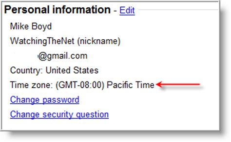 yahoo email time zone i recently switched from yahoo email to gmail have