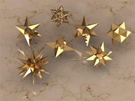 holiday stars  model  printable stl dm cgtradercom