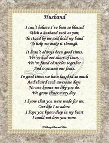 free anniversary poems for husband to order and