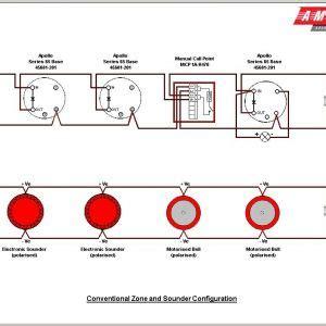 addressable fire alarm system wiring diagram  wiring