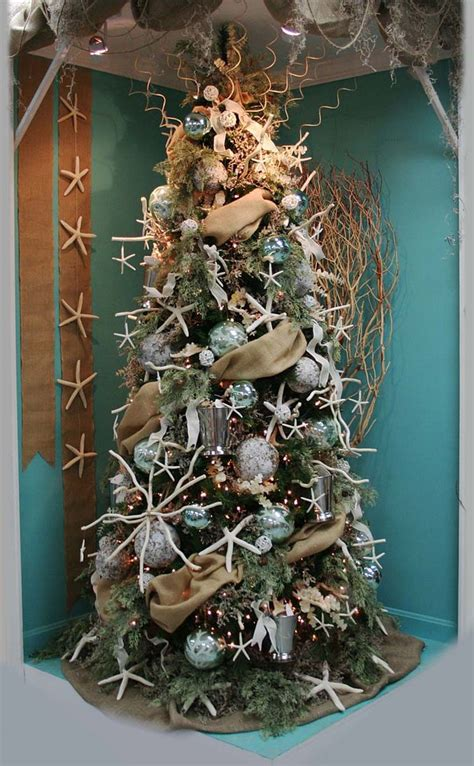 tree themes 30 brilliant coastal chic tree decorating ideas