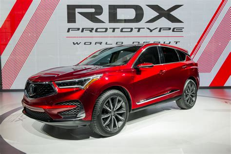 2020 Acura Mdx Detroit Auto Show by Acura Rdx Prototype Is A Thinly Veiled 2019 Rdx That Puts
