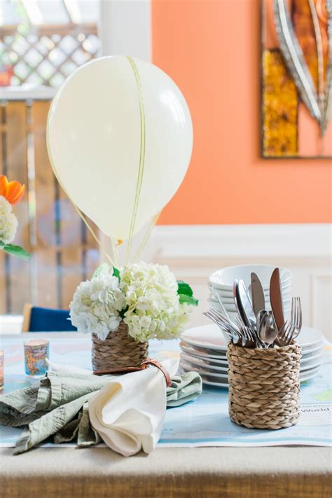 air balloon centerpieces how to make a air balloon centerpiece 10 tips for