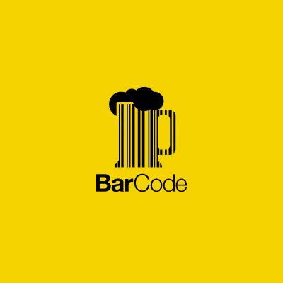bar code | logo design gallery inspiration | logomix