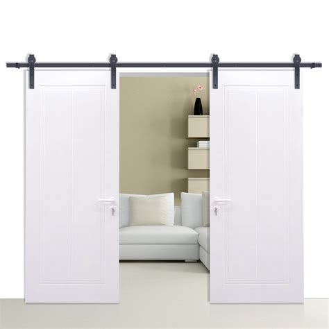 Barn Sliding Door Hardware Heavy Duty 3 6m Sliding Barn Door Hardware Heavy Duty Track Set Door Product Aud 98 00