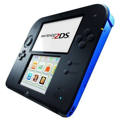 nintendo ds 2 console nintendo 2ds schwarz blau pok 233 mon y test portable konsole