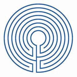 Labyrinth Outline by The Classical Labyrinth Blogmymaze