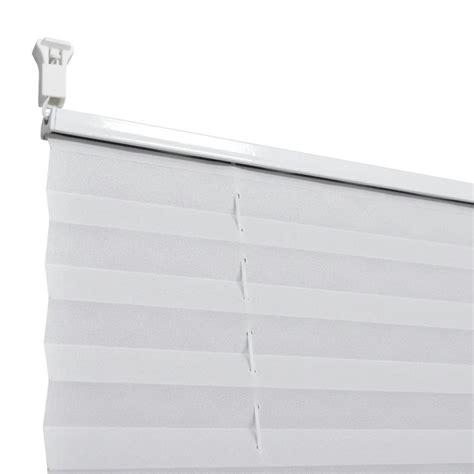 plissee faltrollo der plissee faltrollo rollo plisseerollo 50x200cm wei 223