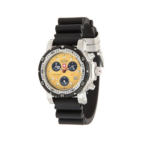 Swiss Navy 1133mb Coklat Yellow In Collection seawolf i scuba chronograph 17281 swiss touch of modern