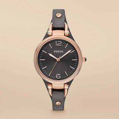 New Jam Tangan Wanita Q Q Transfaran jam tangan wanita fossil type es3077
