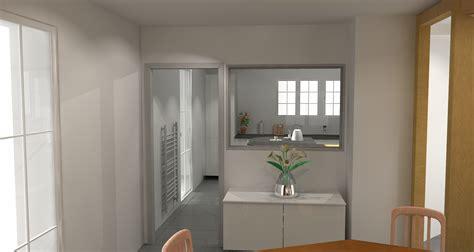 entr馥 cuisine ouverture entre cuisine et salle 224 manger isabelle tollard