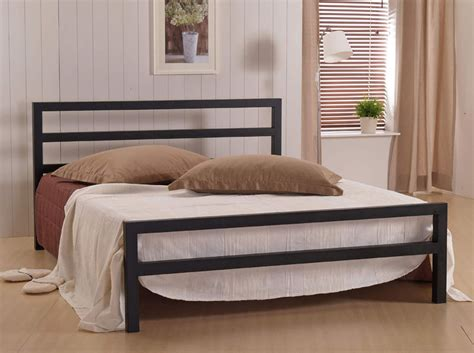 Ideas For Brass Headboards Design Time Living City Block 5ft King Size Metal Bed Frame Bedframeshop Co Uk