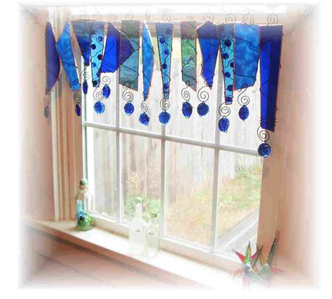 reserved for patricia stained glass window treatment valance