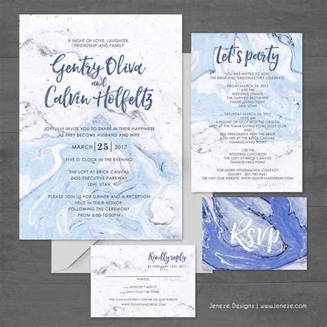 Complete Wedding Invitation Package by Your Unique Wedding Invitation With Unlimited Options