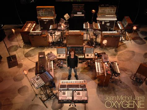 Oxygene Live In Your Living Room by Les Synth 233 S De Jean Michel Jarre 224 Travers Le Temps