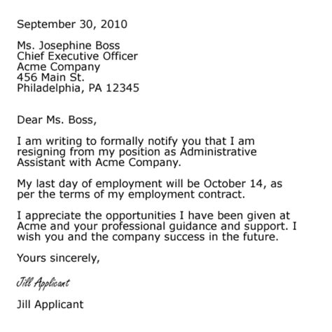 Resignation Letter For Chief Resignation Letter Format Astounding Letter Of Resignation Format Templates Ms Letter Of