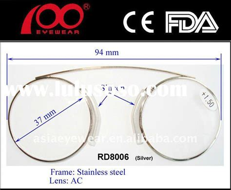 mini reading glasses without arms temples for sale price