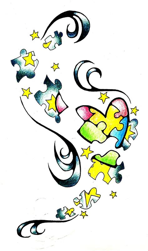 autism awareness tattoo designs autism awareness by lilwashumillenia on deviantart