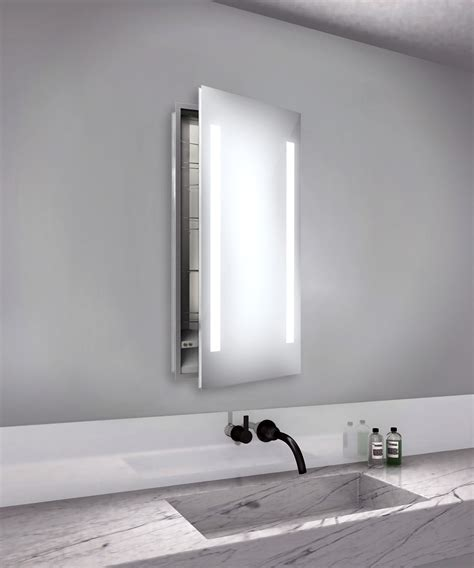 recessed medicine cabinet with mirror ascension right recessed medicine cabinet by electric
