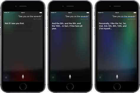 """""""Hey Siri, see you on the seventh!"""""""
