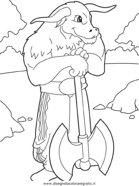 Minotaur Coloring Pages Coloring Pages Minotaur Coloring Pages
