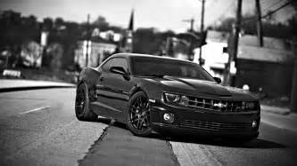 hd wallpaper chevrolet camaro pony car black and
