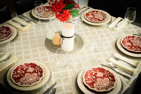 dinner table set up dinner table for any party whisk affair