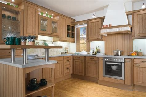 Timber Kitchen Designs Light Wood Kitchen Design Stylehomes Net