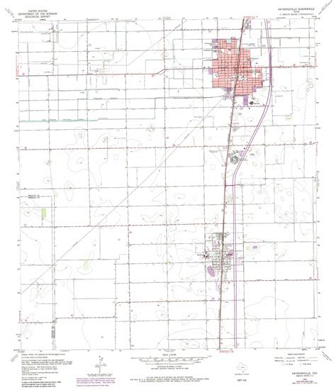 map of raymondville texas raymondville topographic map tx usgs topo 26097d7