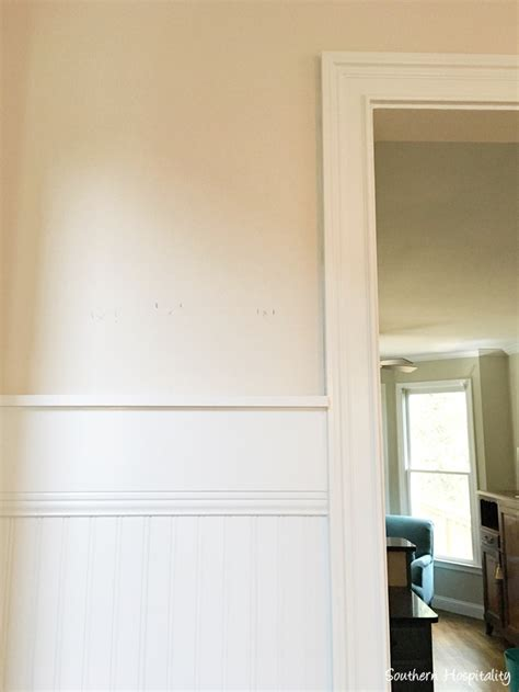 Cape Cod Wainscoting by Beadboard Wainscot In The Dining Room Southern Hospitality