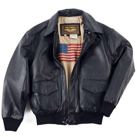 Jacket Bomber 2 landing leathers s air a 2 leather flight bomber jacket ebay