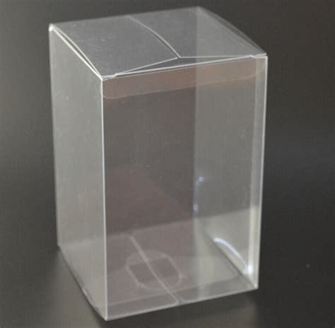 size 7 7 9cm pillow pvc clear plastic gift boxes bulk