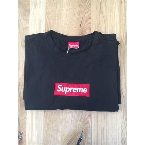 t shirt supreme shirt supreme 4 xl noir 7182932