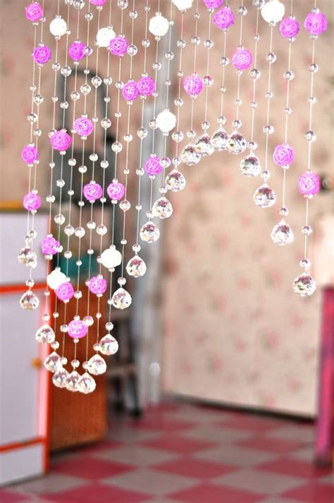 curtains beads crystals 332 best cortinas cuentas images on pinterest