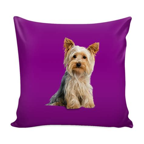 yorkie pillow cover terrier pillow cover terrier accessories
