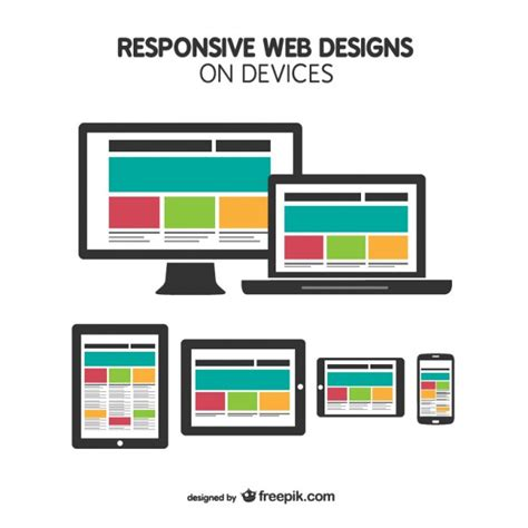 Responsive Design Icon Vector | responsive web design on devices vector free download