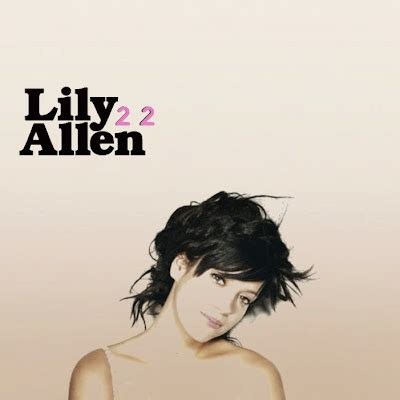 he wasnt there lily allen just cd cover lily allen it s not me it s you singles