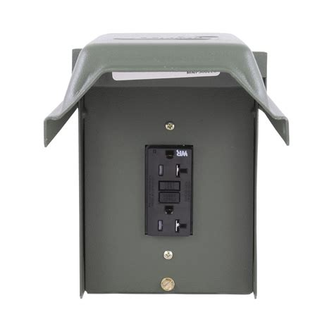 the backyard outlet ge 20 amp backyard outlet with gfi receptacle u010010grp