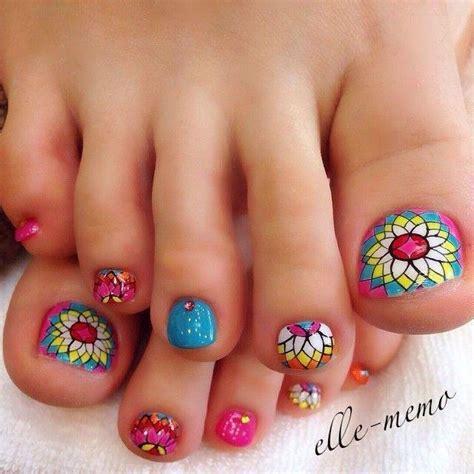 imagenes de uñas decoradas bellas u 241 as decoradas pies hermosos y f 225 ciles de hacer para que