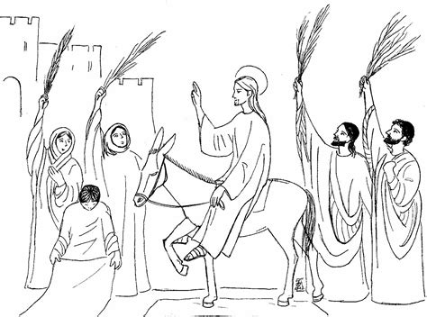 ingresso a gerusalemme domenica delle palme
