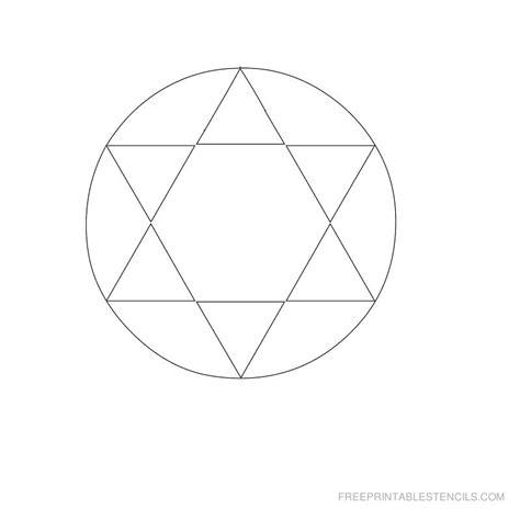 Printable Stencils Geometric | printable geometric stencils free printable stencils