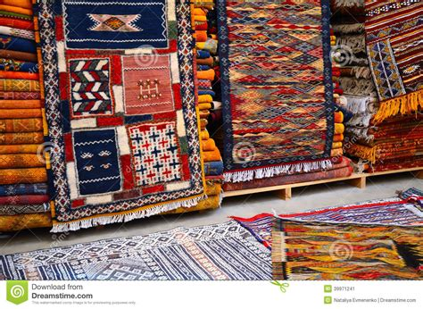 teppiche aus marokko traditionelle marokkanische teppiche stockbild bild