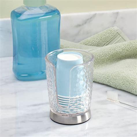 bathroom paper cup dispenser interdesign rain disposable paper cup dispenser for