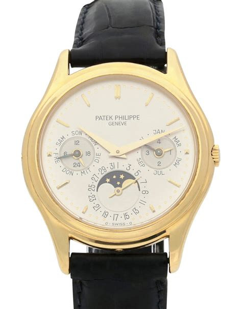 Patek Philippe G488 Leather Brrg patek philippe grand complications 3940j 36 mm leather