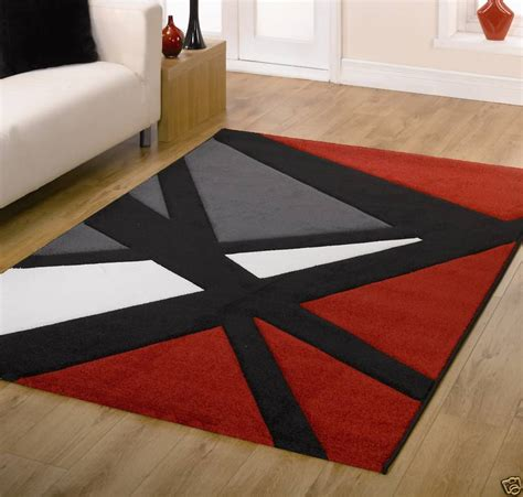 red accent rug black and red rug rugs ideas