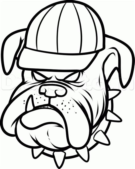 bulldog pictures to color az coloring pages