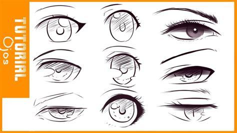 imagenes ojos anime tutorial de dibujo 2 como dibujar ojos estilo anime