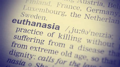 Euthanasia Also Search For Merchants Of Euthanasia Troubles Even Assisted Doctors