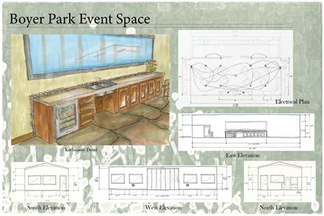 student interior designers student interior design portfolio boyer park event space